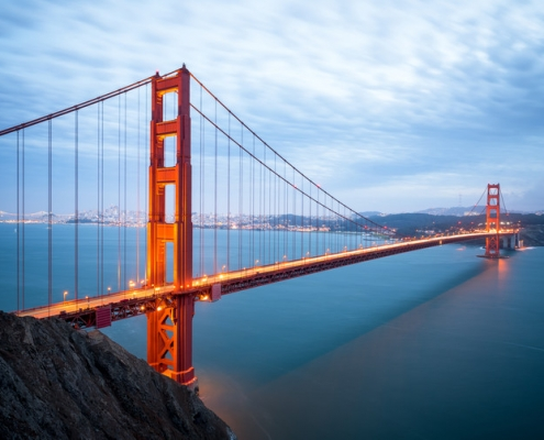 Lincoln University San Francisco Golden Gate Bridge